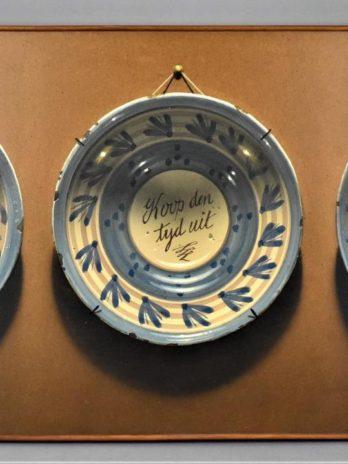 Three Delft Plates